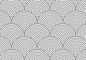 Retro Chainmail Pattern Background - Free vector #382187