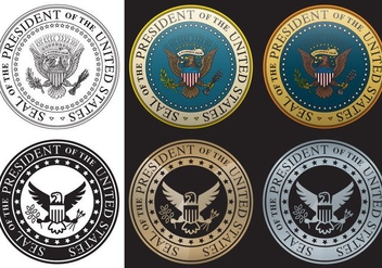 Presidential Seal - бесплатный vector #382197