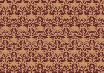 Rusty Vector Western Flourish Pattern - vector gratuit #382817