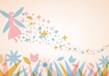 Free Pixie Dust Background Vector - vector #382967 gratis