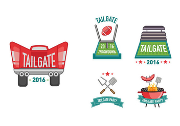Tailgate cliparts - Kostenloses vector #382997