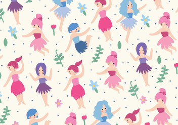 Pixie Pattern - Free vector #383267