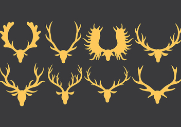 Free Kudu Icons Vector - Free vector #383277