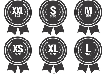 Size Vector Badges - vector #383287 gratis