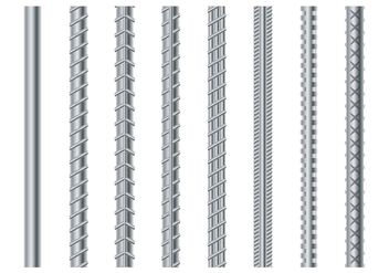 Rebar Illustration - vector #383467 gratis