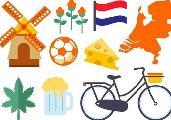 Free Netherland Icons Vector - vector #383547 gratis