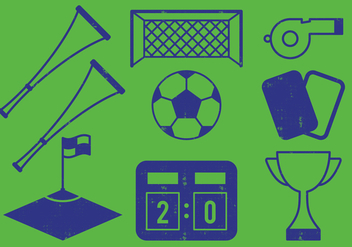 Soccer Icon - Free vector #383727