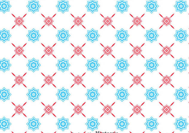Traditional Ornament Tiles Background - vector #383967 gratis