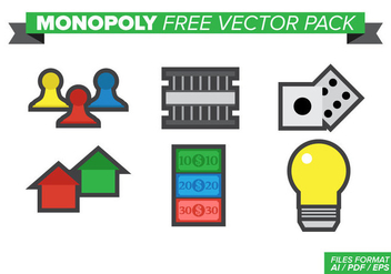 Monopoly Free Vector Pack - vector gratuit #384227