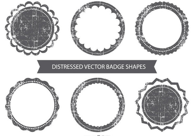 Grunge Vector Badges Free Vector Download 384297 | CannyPic