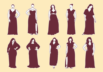 Free Plus Size Icons - vector gratuit #384337