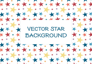 Colorful Star Background - Kostenloses vector #384377