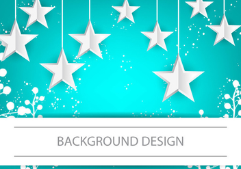 Infographic Design Stars Background - vector gratuit #384437