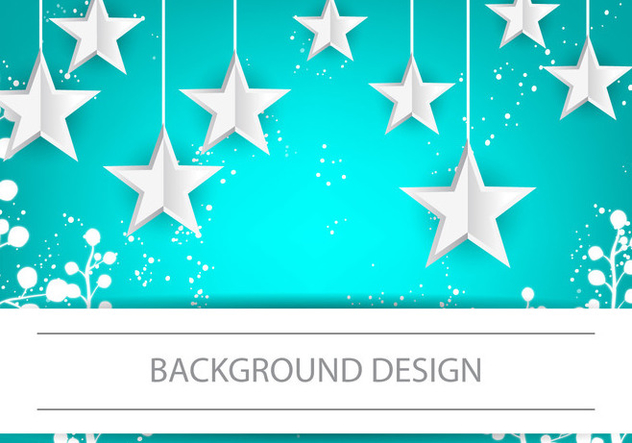 Infographic Design Stars Background - Kostenloses vector #384437