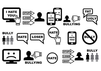 Bullying Vector - vector gratuit #384917