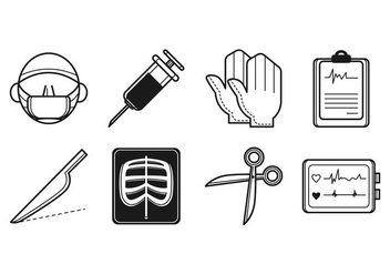 Free Surgery Icon Vector - vector #384927 gratis