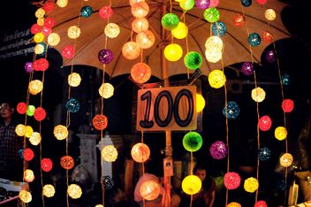 Colorful glowing garland - бесплатный image #385167