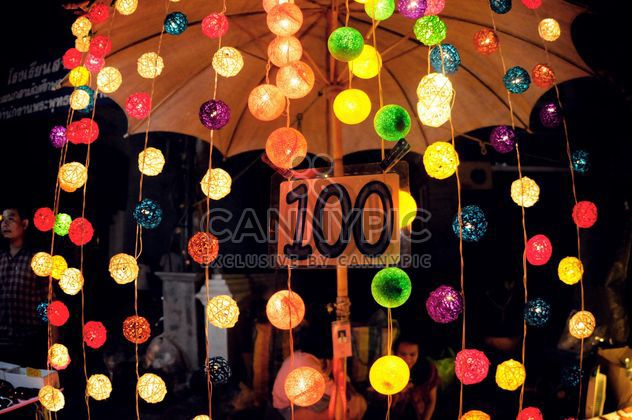 Colorful glowing garland - Free image #385167