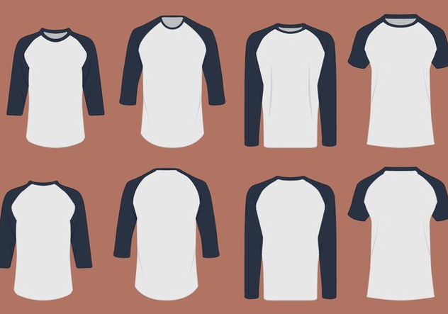 T-shirt Design Template - vector gratuit #385407