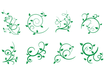 Free Liana, Leaves, Vector Illustration - vector gratuit #385447