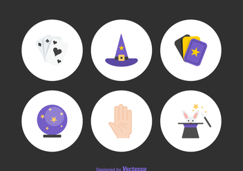 Free Magic Vector Icons - vector #385577 gratis