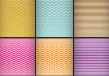 Degrade Strip Patterns - vector #385627 gratis