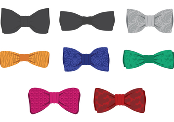 Bow Tie Set - vector gratuit #385677