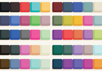 Color Swatches Vector - Kostenloses vector #385827