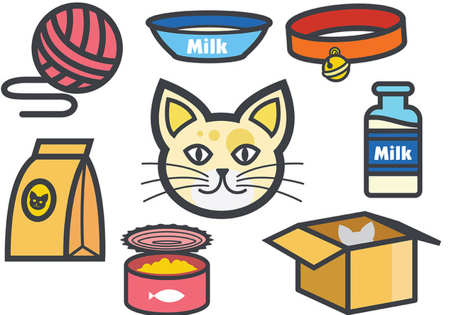 Free Cats Icons Vector - Kostenloses vector #386407
