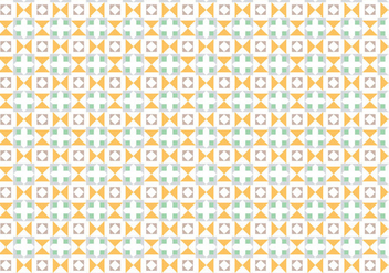 Abstract Pastel Mosaic Pattern - vector gratuit #386437