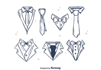 Gentleman Set Vector - Free vector #386657