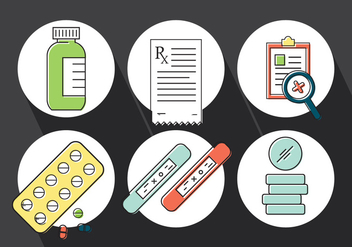 Free Medical Icons - vector gratuit #387127