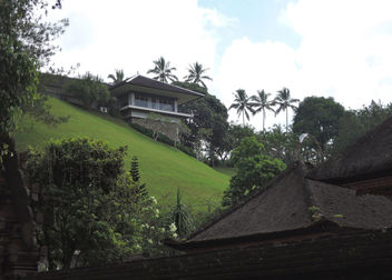 Bali-Modern building versus to old one - Free image #387167