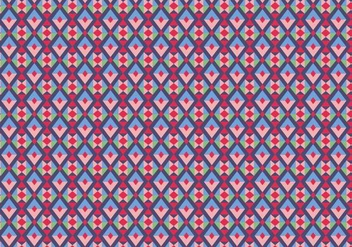 Purple Geometric Pattern - vector #387337 gratis