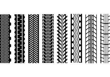 Free Tire Marks Vector - Free vector #387497