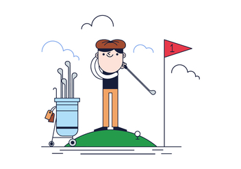 Free Golf Vector - Free vector #387637