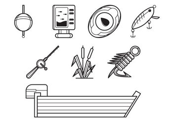 Free Fishing Icon Vector - vector #387947 gratis