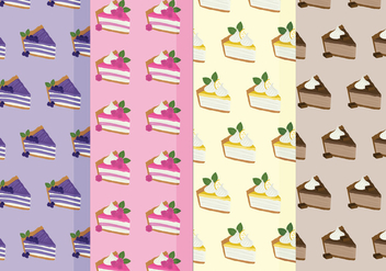 Vector Pies Pattern - Free vector #387997