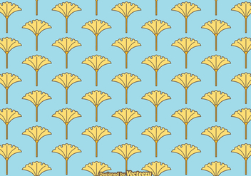Free Vector Ginko Pattern - Kostenloses vector #388007