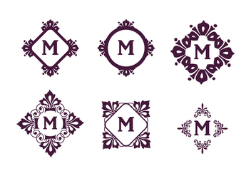 Monograms Vector Set - Free vector #388047