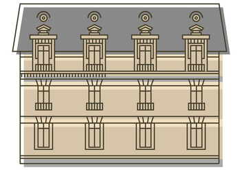 Building Illustration - vector gratuit #388247