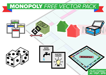 Monopoly Free Vector Pack - vector gratuit #388947