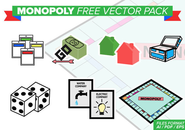 Monopoly Free Vector Pack Free Vector Download 388947 | CannyPic