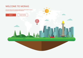 Free Monas Illustration - бесплатный vector #389227