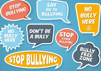 Free Bubble Anti Bullying Vector - Kostenloses vector #389277
