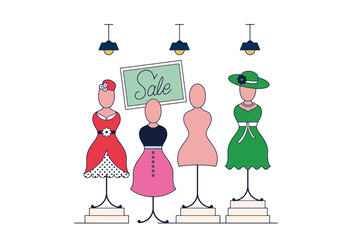 Free Mannequin Vector - Free vector #389347