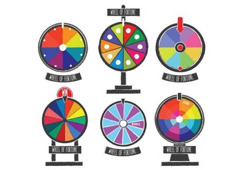 Spinning Wheel Vector - vector gratuit #389697