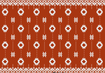 Ethnic Songket Pattern - vector #389797 gratis
