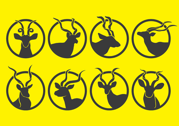 Kudu icons - Free vector #389977
