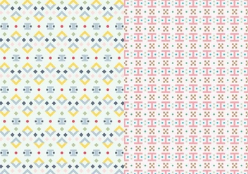 Motif Abstract Pattern - vector gratuit #390027